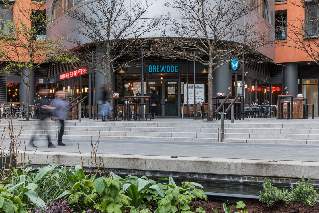 CRAFT BEER INNOVATOR BREWDOG LAUNCHES NEW WATER SIDE BAR IN THE PADDINGTON BASIN