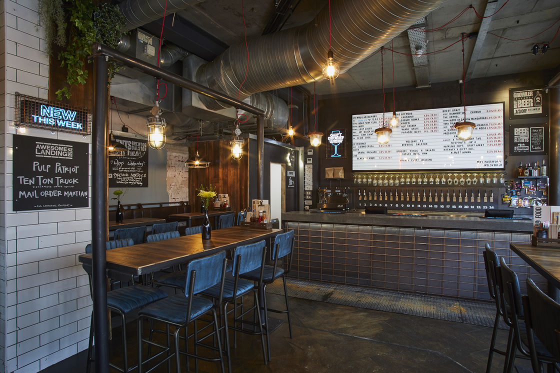 BREWDOG LAUNCHES HIGHLY ANTICIPATED DALSTON BAR AT THE HEART OF LONDON'S BOOMING CRAFT BEER SCENE