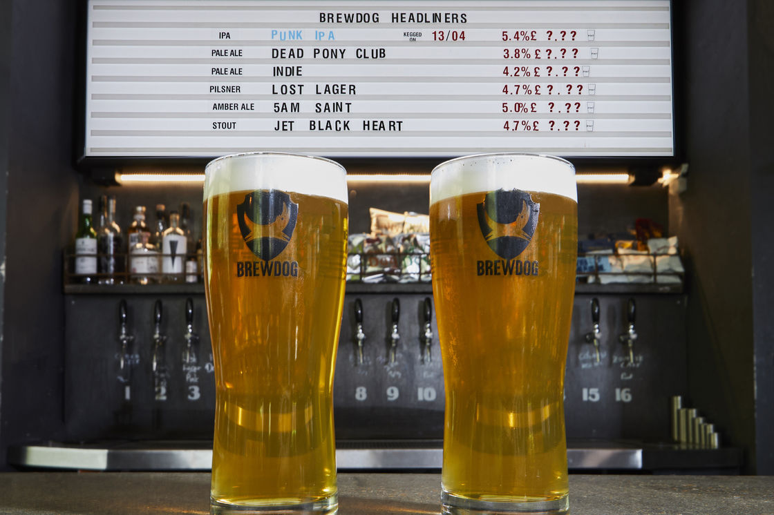 HONEST TO DOG - BREWDOG ALLOWS FANS TO PAY WHAT THEY WANT FOR BEER