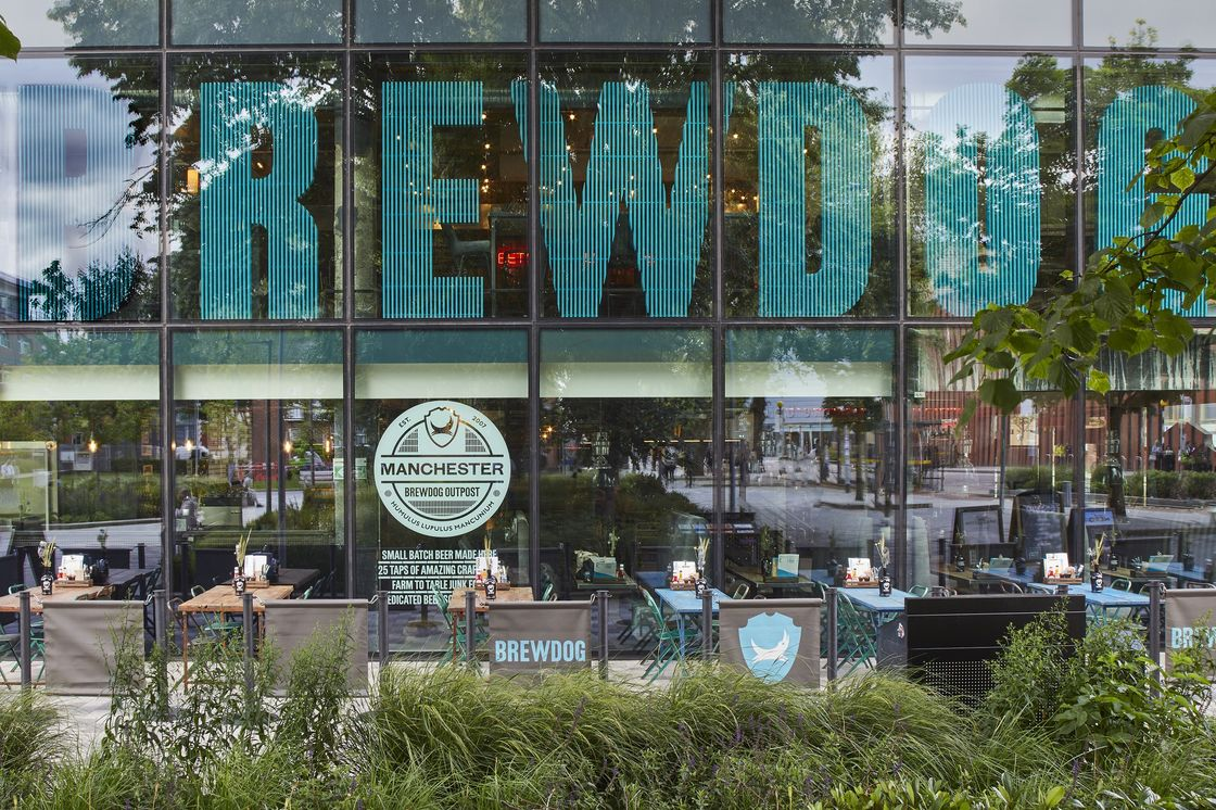 MANCHESTER DOUBLES DOWN TO ADVANCE CRAFT BEER OFFERING WITH BREWDOG OUTPOST OPENING