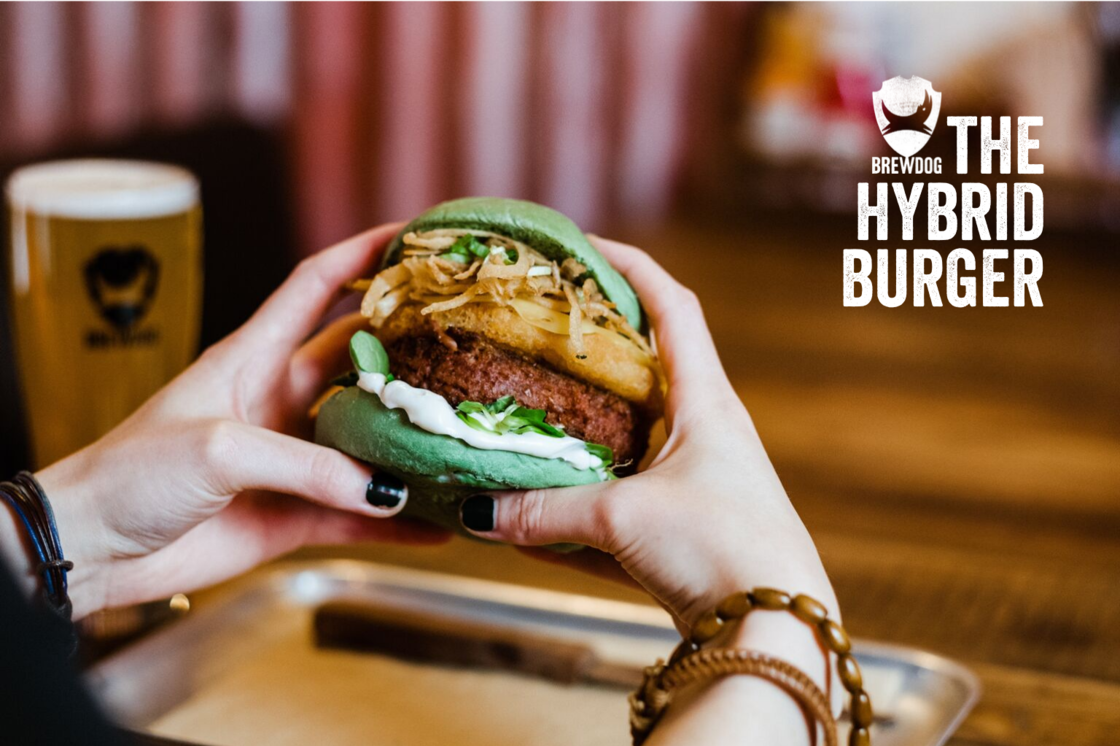 BrewDog create the 'HYBRID Burger' – the palatable option for those that love both the planet and meat