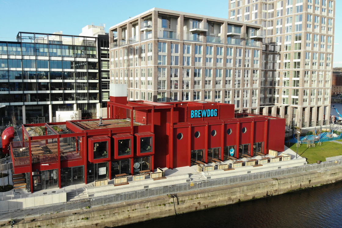 BREWDOG HEADS TO THE EMERALD ISLE WITH OUTPOST DUBLIN BREWPUB