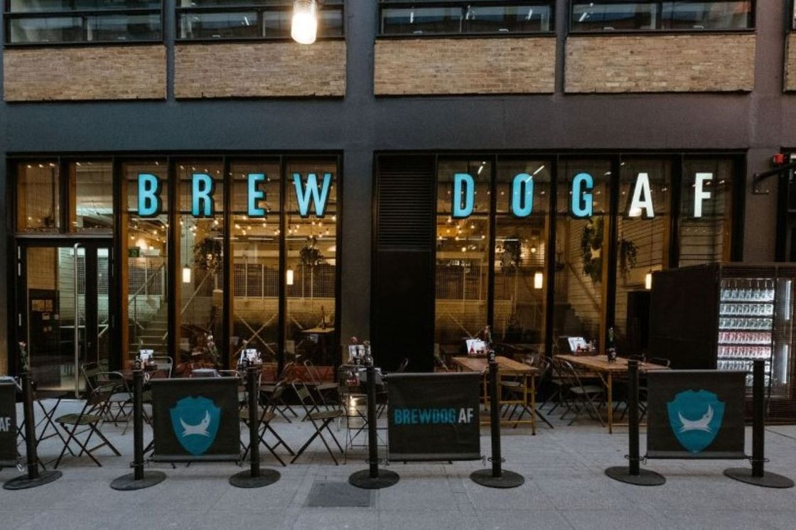 BREWDOG LAUNCHES WORLD'S FIRST ALCOHOL-FREE BEER BAR