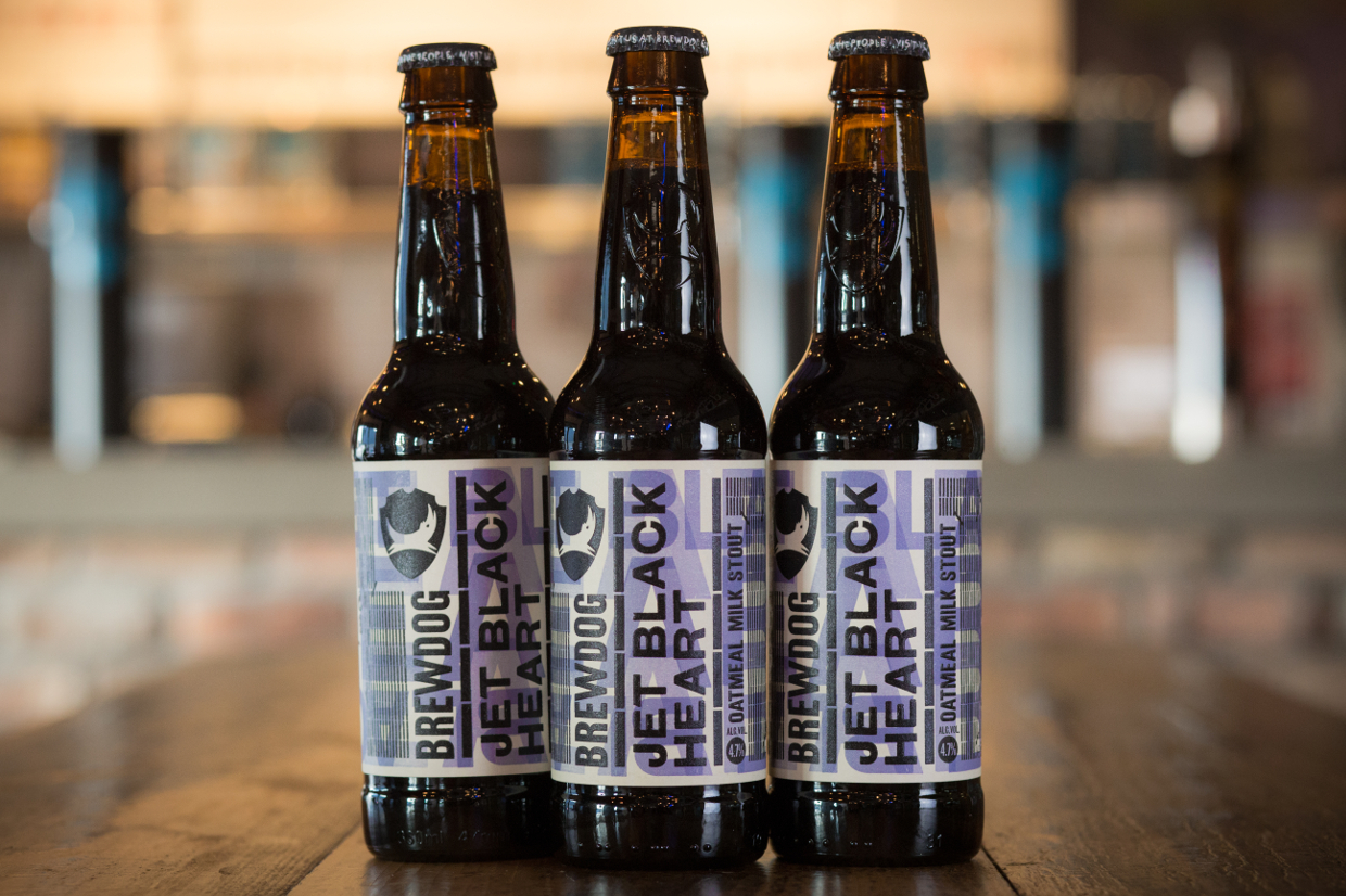 GOOD THINGS COME TO THOSE WHO WAIT: BREWDOG UNLEASHES MILK STOUT, JET BLACK  HEART, TAKING ABSURD MARKETING CUES FROM GUINNESS. - BrewDog